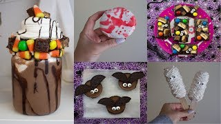 SIX CHEAP & EASY HALLOWEEN TREATS 2017 | PINTEREST INSPIRED