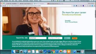 Work@Home with Citizens Bank