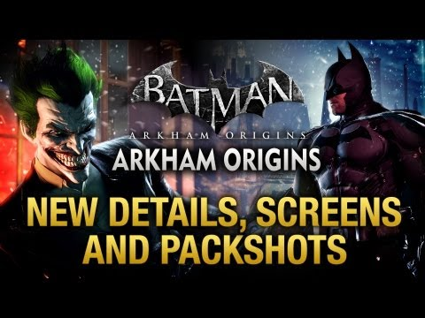 Batman: Arkham Origins - New Details, Screenshots and Packshots