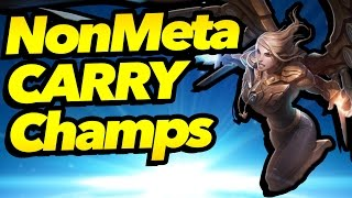 7 Non-Meta Champions That CARRY - League of Legends