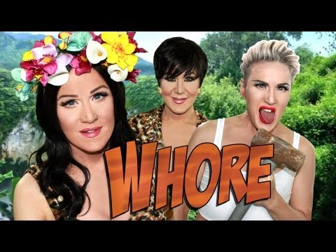 Roar/Wrecking Ball Parody - starring Katy Perry, Miley Cyrus & Kris Jenner