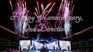 Happy Birthday, One Direction! - #5YearsIn5Minutes