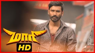 Maari Tamil Movie | Fight Scene | Dhanush beats up Mime Gopi