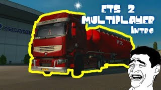 Euro Truck Simulator 2 Multiplayer | Intro | Funny Moments #1 | ©2012 SCS Software