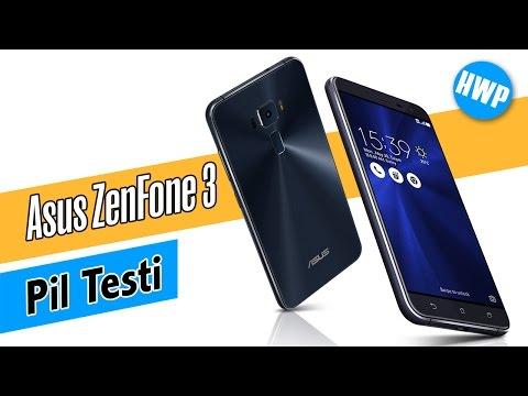 Asus ZenFone 3 (ZE552KL) Pil Testi