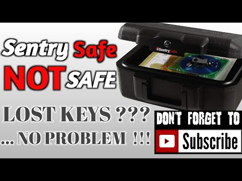 Sentry Safe Not Safe