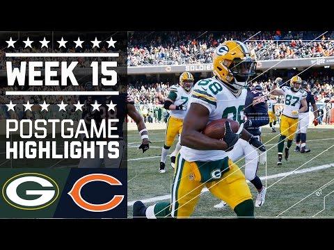 Packers Vs Bears Nfl Week 15 Game Highlights