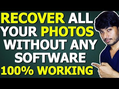 Recover Deleted Photos without any Software/App Android