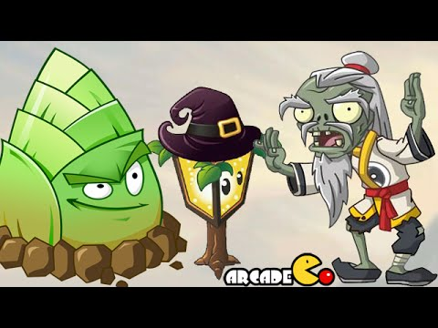 Plants Vs Zombies 2: New Plants In Kung Fu World Vs Qi-Gong Master Zombies