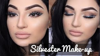 Silvester Glam Makeup Tutorial - Glitzer Eyeliner - #dilsbeautyweek TAG 3