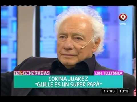 La conversación de Guillermo Coppola y su mujer, Corina Juárez