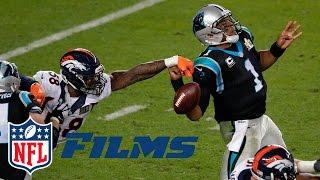 Von Miller Gets to Cam Newton   Super Bowl 50: Panthers vs. Broncos   NFL Turning Point   NFL Films