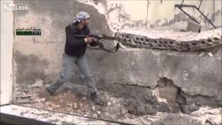 Close CallFSA militants almost shot by SAA