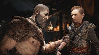 God of War (2018) Gameplay Walkthrough Part 1 - Father Son - PS4 Pro 4K