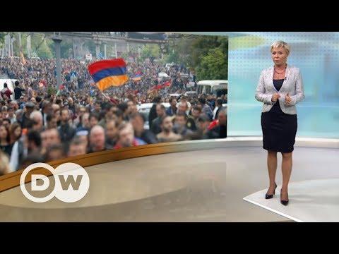 Саргсян ушел в отставку: шок для Путина? - DW Новости (23.04.2018)