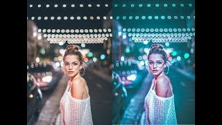 Cara membuat effect brandon woelfel with app LIGHTROOM
