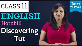 Discovering Tut : the Saga Continues | in Hindi class 11 | Discovering Tut Class 11 in English