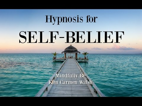 Hypnotherapy for self-belief