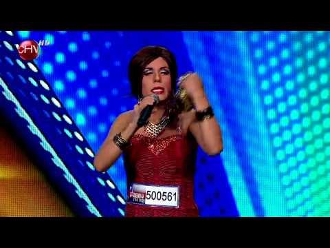 Luz Violeta hizo reír al jurado con su encanto y gran talento - TALENTO CHILENO