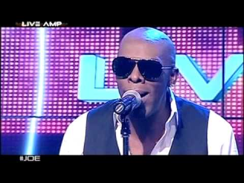 Joe - I Wanna Know - on the LiveAmp stage