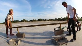 How to NOT concrete a Handrail