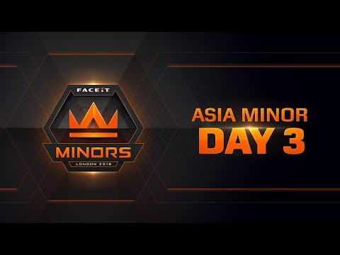 The FACEIT Asian Minor Championship | Day 3