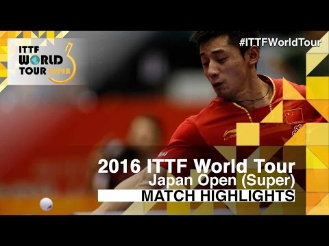 2016 Japan Open Highlights: Zhang Jike vs Kenta Matsudaira (R32)