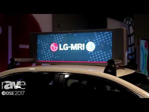DSE 2017: LG-MRI Presents TaxiVu, a Digital LCD Display for Mobile Advertising