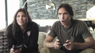 FIFA Soccer 12 Matchups_ Steve Nash vs. Hope Solo