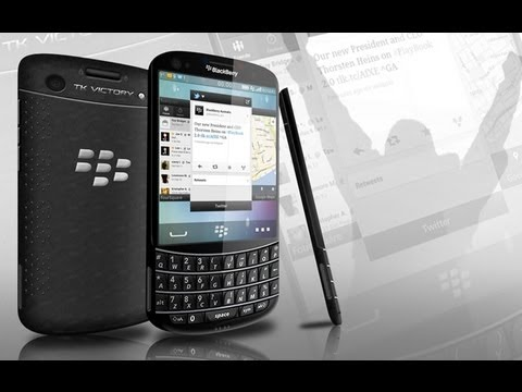 BlackBerry TK Victory Concept Phone Overview