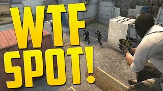 THE BEST HIDING SPOT IN CS:GO - CS GO Funny Moments in Competitive