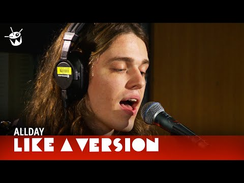 Inxs - Allday covers INXS 'Never Tear Us Apart' for Like A Version'