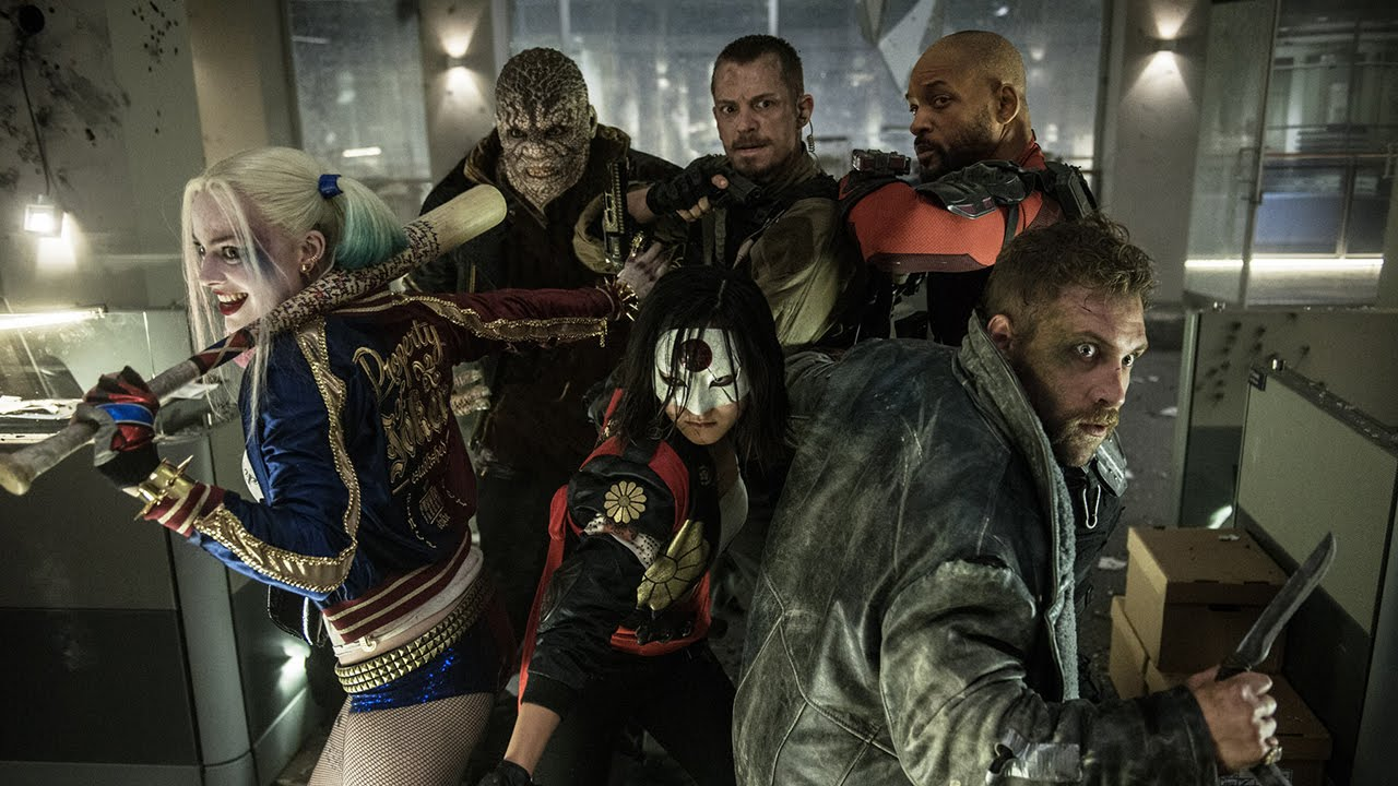 [The New 'Suicide Squad' Trailer Shows Bad Guys Having A Good Time] Video