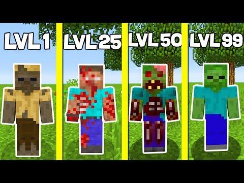 ⚠️ ZOMBİ SEVİYELERİ! - Minecraft ⚠️