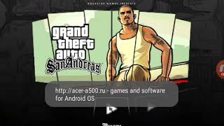 San Andreas funny fastfood eat (android game)
