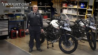 Triumph Tiger 800 XCx - I Bought One | Kevin Sanders
