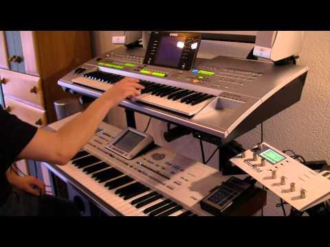 Lambada Piano Cover With (korg Pa2x & Yamaha Tryos 3) video