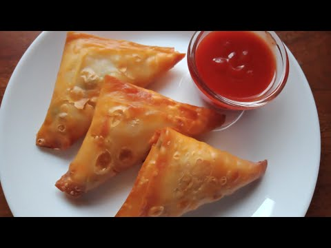 Sweetcorn Samosa || Tasty & crispy samosa recipe || Easy to make.