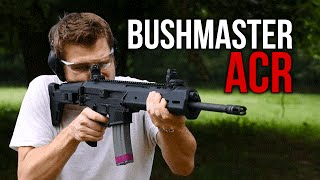 The Bushmaster ACR Rifle (Suppressed)