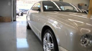 Bentley PDR Glue Pull - Paintless Dent Repair  / Removal San Diego (Full Version)