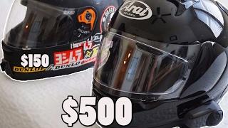 $500 vs $150 Helmet: Which Should You Buy?