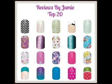 {Review} Jamberry Nail Wraps!