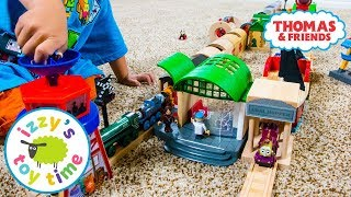 Thomas and Friends Railway BRIO TUNNEL RACE! Fun Toy Trains for Kids | Videos for Children