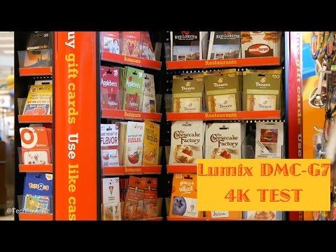 Panasonic Lumix G7 Video 4K TEST (quality, autofocus, sharpness)