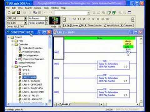Automation Technologies Intro to PLC Programming Training Video, Part 1