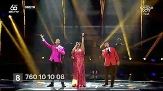 Viva La Diva - Nova Glória - Final | Festival da Canção 2017 | RTP
