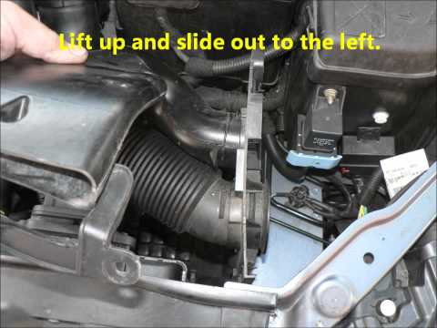 Citroen C4 1.6 HDI Air & Oil Filter Change