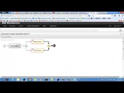 JBPM6 example works in KIE workbench