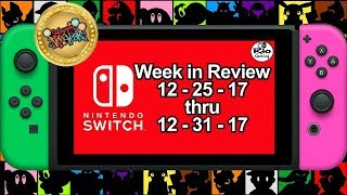 9 New Switch Games ANNOUNCED for Last Week of December 2017 | Nintendo News