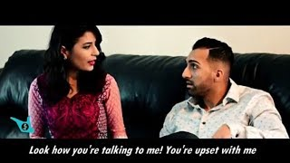 Funny Comedy Punjabi Family - Husband Wife Fight | Tri Production
